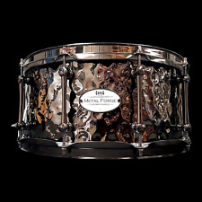 CHAOS METAL FORGE 14'' x 6.5'' HAMMERED BRASS SNARE DRUM