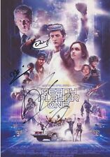 Ready Player One Multi-Signed A4 Photo AFTAL *SIGNED BY 3*