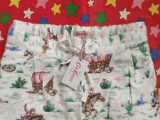 ❤️ CATH KIDSTON BNWT ❤️ Size XS Cowboy Pyjama PJ Lounge Bottoms UK 6-8 Gift Bag