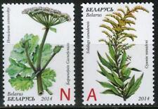 2014 Belarus. Invasive Plants of Belarus. Set of 2. Mnh