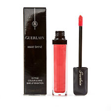 Guerlain Maxi Shine Intense Red Pink Shimmer Lip Gloss Coral Wizz 440