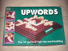 "BOXED "" UPWORDS "" THE 3D GAME OF HIGH RISE WORD BUILDING BY PARKER DATED 1996"