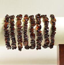 Lot 10  wholesale Baltic amber bracelet - multi size adult 47.5 g TA-2077