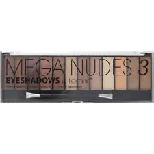 Technic Eyeshadow Palette Mega Nudes 3 12 Colour Build Different Looks