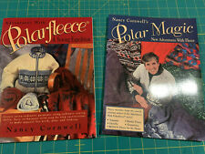 """2 """"Polar Fleece"""" Sewing Technique Books by Nancy Cornwall. Softcovers"""