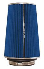 "Air Filter 8.75 in Tall SPECTRE 9736 Cone Air Filter Tall 3"", 3.5"", 4"" Blue"