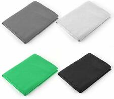 4pcs of 6' (w) x9' (H) Photo/Video Backdrops Kit in White, Black, Green and Gray