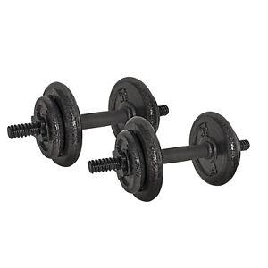 CAP Adjustable 40LB Dumbbell Set Bar & Plates