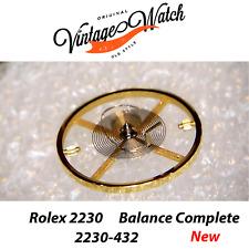 NEW Rolex 2235 2230 432 Balance Complete Bilanciere Rolex Nuovo
