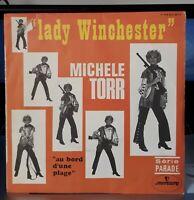 """Trés Rare SP Michele Torr """"Lady Winchester""""  1969 Mercury 154 623 - VG++ / EX"""
