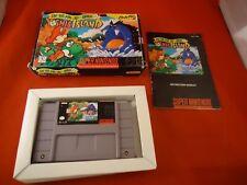 Super Mario World 2: Yoshi's Island (Super Nintendo SNES 1995) COMPLETE w/ Box