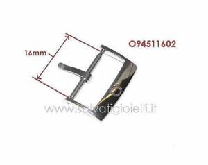 OMEGA buckle 94511602 polished 16mm boucle hebilla Dornschließe GENUINE *new