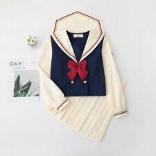 jk snow white japanese uniform skirt sailor suit