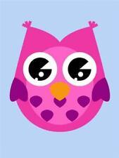 Owl Birds Art Posters