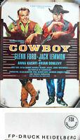 Filmplakat Cowboy - Glenn Ford  Jack Lemmon  -  (gerollt) A1