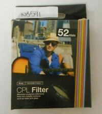 Vivitar CPL Circular Polarizer Glass Filter 52mm