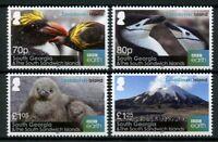 South Georgia & S Sandwich Isl 2016 MNH Zavodovski Island 4v Set Penguins Stamps
