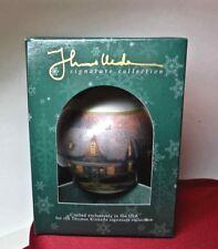 THOMAS KINKADE Ornament CHRISTMAS EVE 1994 New in Box USA