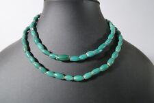 Alte Glasperlen green Melon Seed Murano Chevron K4 African Trade beads Afrozip