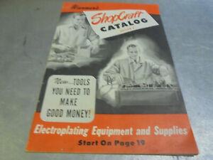 Vintage 1949 Warner's Shopcraft Catalog Edition D