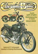 Classic Bike Issue #5 - Harley Flathead Royal Enfield Interceptor KTT Velocette