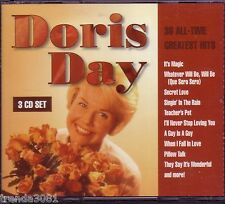 DORIS DAY All Time Greatest 3CD 50s WHEN I FALL LOVE TUNNEL OF LOVE PILLOW TALK