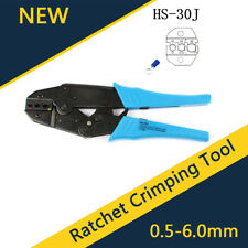 Insulated Wire Terminals Connectors Ratcheting Crimper Crimping Tool 22-10AWG