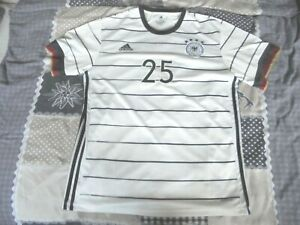 adidas Trikot 2021 DFB, Nr. 25, Thomas Müller, Gr. XXL