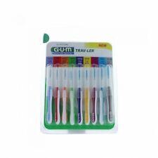 GUM Travler Pack Interdentaires 9 brossettes