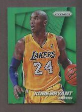 2014-15 Panini Green Prizm Kobe Bryant Los Angeles Lakers HOF