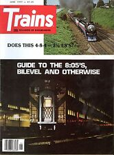 Trains Magazine June 1977 Guide to the 8:05's, Bilevel and Otherwise