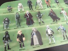 Vintage Star Wars C-3PO Collectors Case Green Insert Ft. Brown Yoda Luke Farmboy