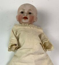 """Antique 8-1/2"""" German Bisque Head Baby Doll Composition Body"""