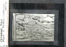Paul Cezanne Mont S. Victoire Lantern Slide