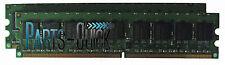 4GB Kit (2 x 2GB)  DDR2 PC2-6400E UB DIMM Dell PowerEdge 830 840 850 860 Memory