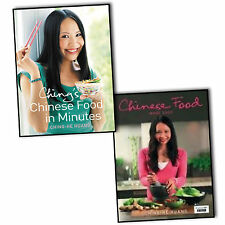 Ching-He Huang Chinese Food 2 Books Collection Set Made Easy In Minutes HB NEW
