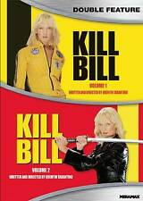 Kill Bill: Volume One / Volume Two 1&2 (DVD, Double Feature) - New