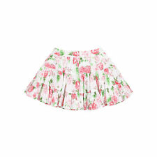 Floral 100% Cotton Skirts (0-24 Months) for Girls