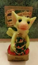 Rl � Pocket Dragons Dragon * �Mint� * Merry Christmas * 2000 *