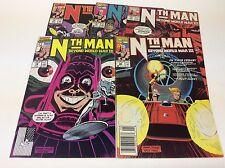 NTH MAN THE ULTIMATE NINJA #12-16 (MARVEL/HAMA/FINAL ISSUE/051780) FULL SET OF 5