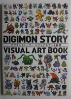 DIGIMON STORY Visual Art BooK Illustration Art Works Character Japanese Import