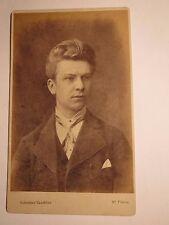 St. Fiden bei St. Gallen - Eugen Behler als junger Mann - Portrait / CDV