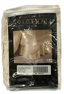 Colormate Percale Dust Ruffle Bed Skirt Color Linen Size Full New
