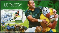 GUINEA 2015 RUGBY SOUVENIR SHEET   MINT NEVER HINGED