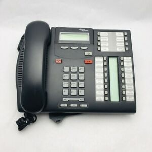 Excellent Used Condition Nortel Norstar T7316E Charcoal Avaya Phones (NT8B27)