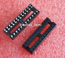 20pcs 24PIN 24 PIN DIP IC Socket Adaptor Solder Type Socket Pitch Dual Wipe