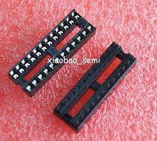 20pcs 24PIN 24 PIN DIP IC Socket Adaptor Solder Type Socket Pitch Dual Wipe