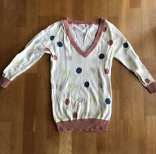 BNWT Baby Doll by Marcs v-neck polka dot jumper size S
