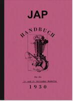 JAP Motoren 175 200 300 350 400 500 550 600 750 ccm Bedienungsanleitung Handbuch