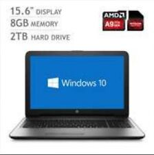 HP 15-ba101na, AMD A9, 8GB RAM, 2TB Hard Drive, 15.6 Inch  Notebook